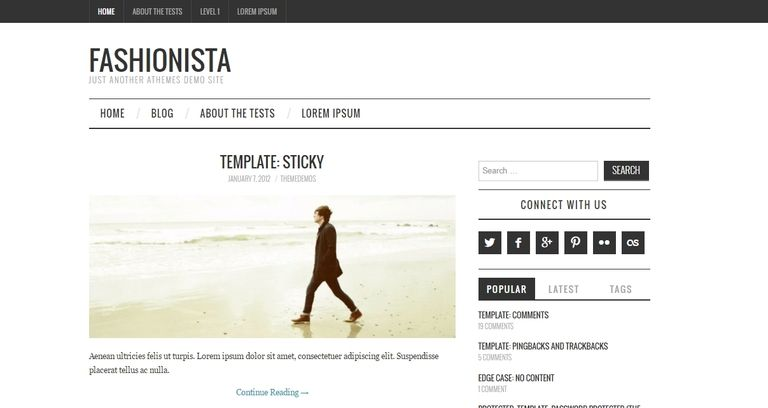 theme de wordpress gratuito