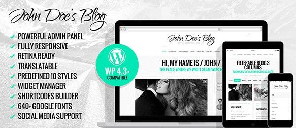 mejor plantilla blog wordpress